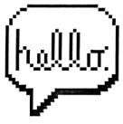 bitmap hello